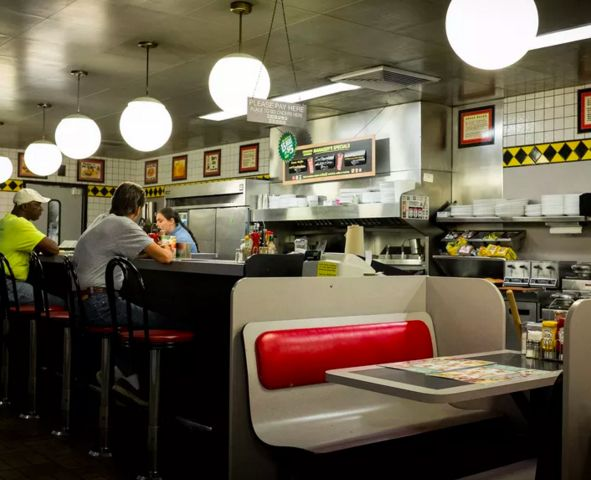 Romance-Themed Waffle Diners