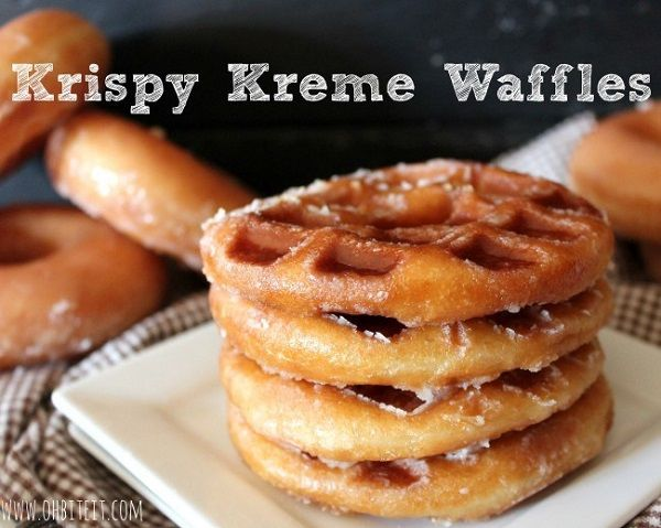 Hybrid Waffle Donuts