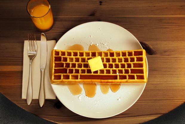 Keyboard Waffle Irons