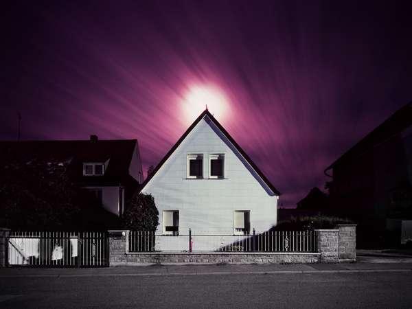 Vibrantly Violet Housetography