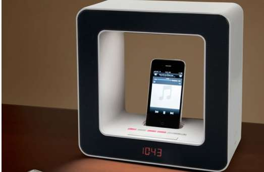Wake-To-Light iPhone Alarm Clock