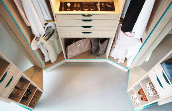 Fabulous Unfolding Wardrobes Walk In Closet By Hosun Ching
