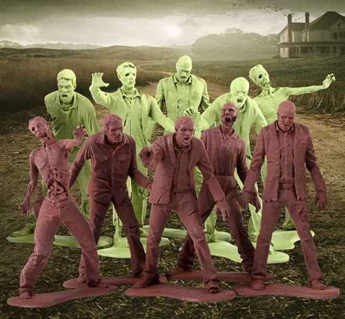 Living Dead Soldier Toys