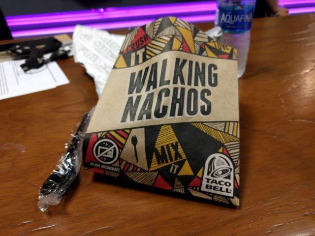 Portable Nacho Packets