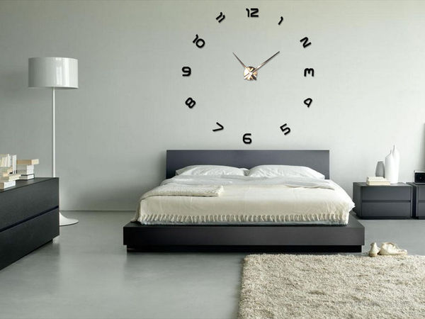 Enormous Minimalist Wall Clocks