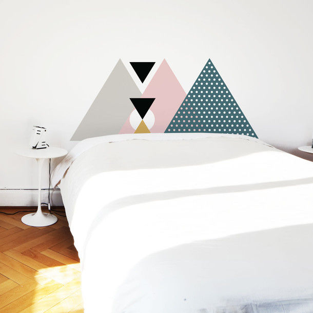 Geometric Bedroom Decals