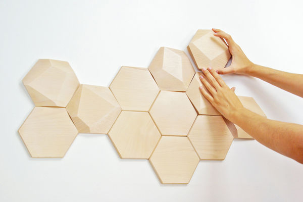 Beehive Wooden Wall Decor