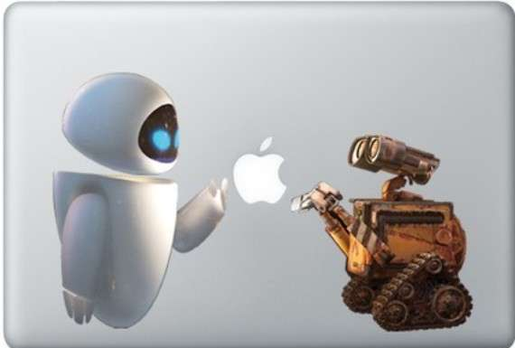 Wall E and Eva Decals