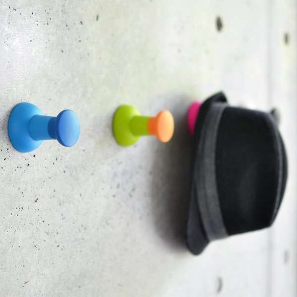 Push Pin Wall Hooks