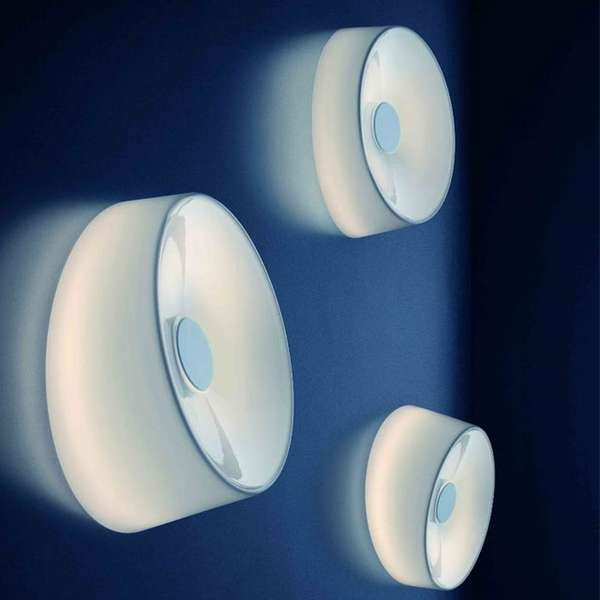 Ethereal Glass Wall Lights