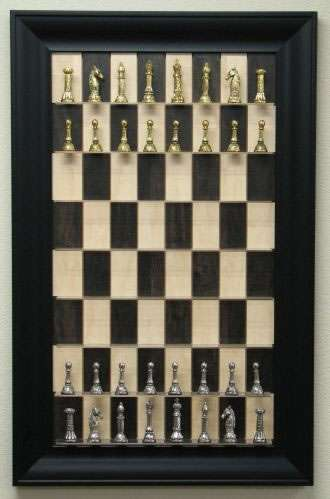 Wall-Mounted Board Games: Straight Up Chess