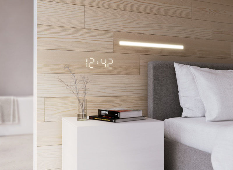 LED-Embedded Wall Panels