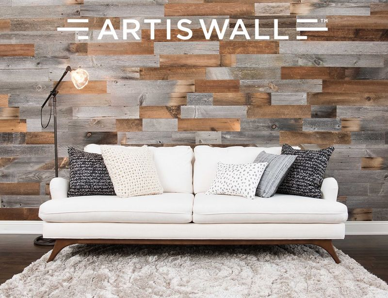 Removable Accent Wall Planks