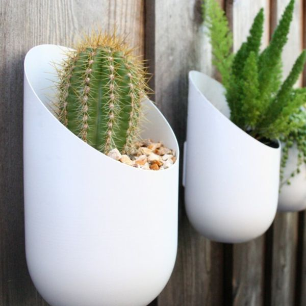 Wall mounted pland holders wall planter - Wall mounted planters outdoor ...