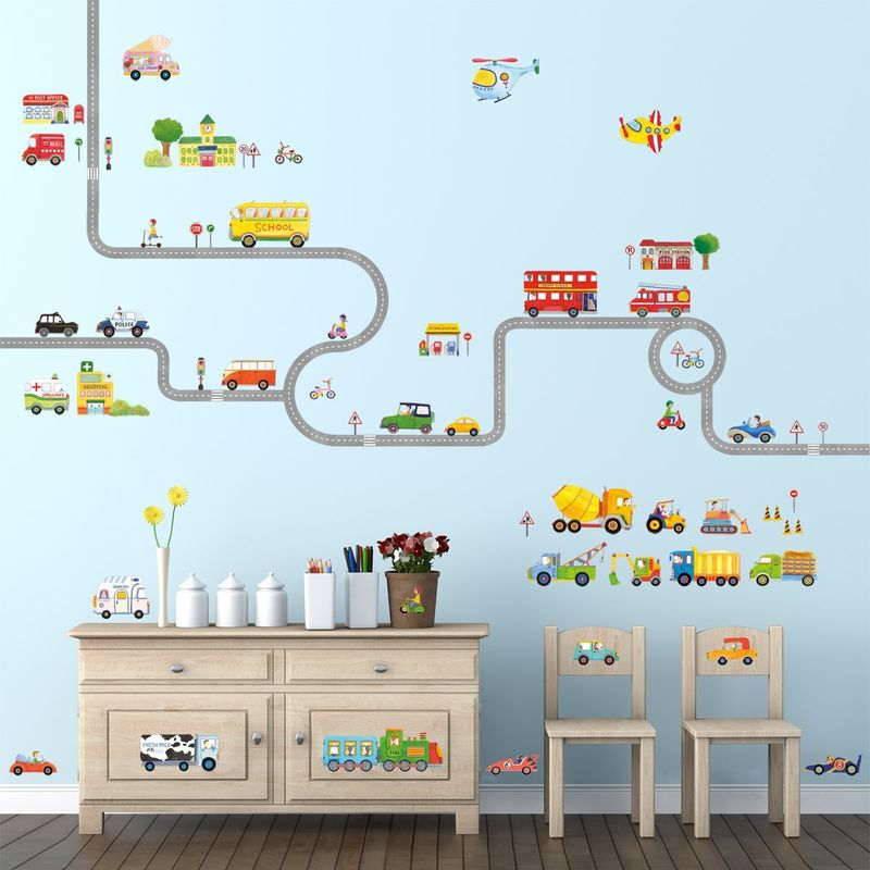 Play-Oriented Wall Decals