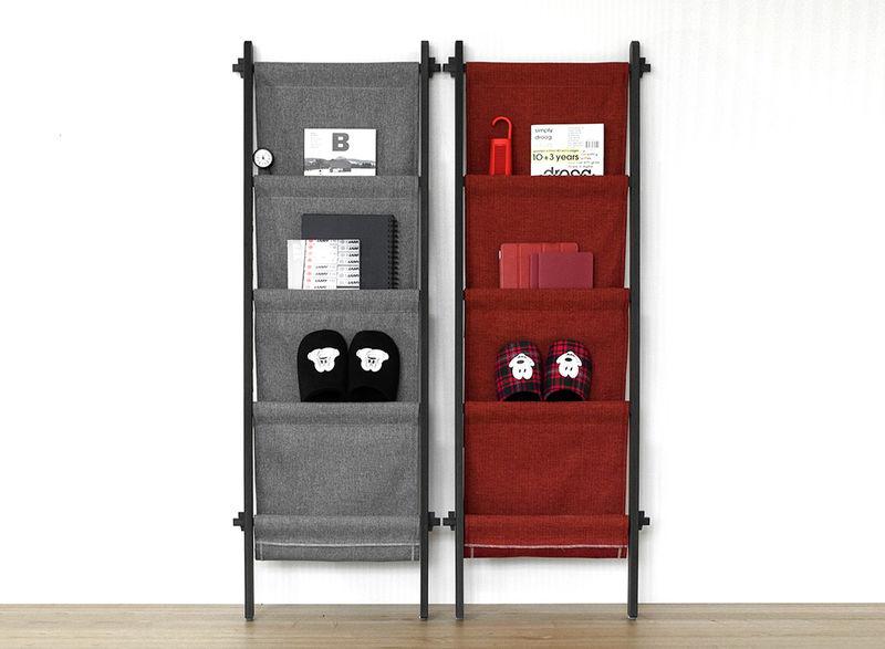 Space-Conscious Storage Shelves