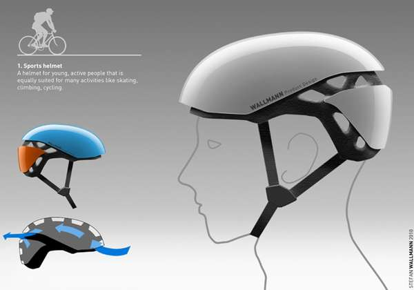 Wallmann Bike Helmet