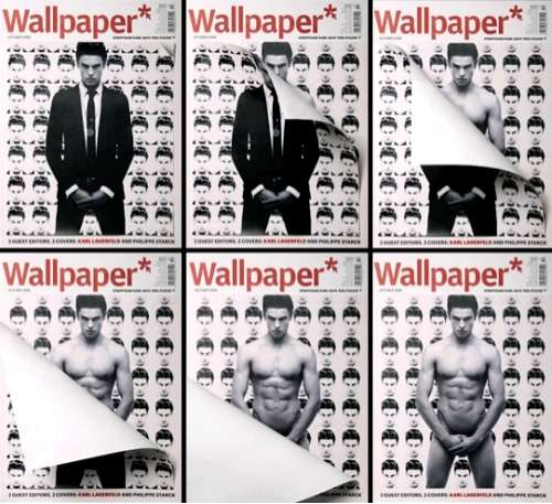 Undressing Magazine Covers