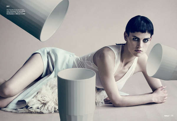 Floating Tea Cup Editorials