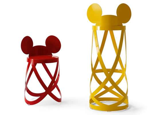 Mouseketeer Bar Stools