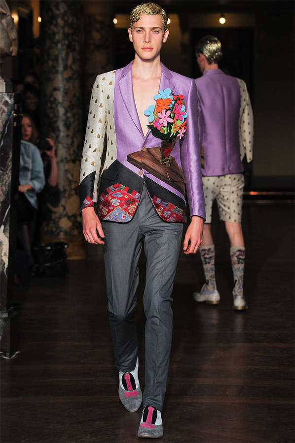 Clashing Kaleidoscopic Menswear
