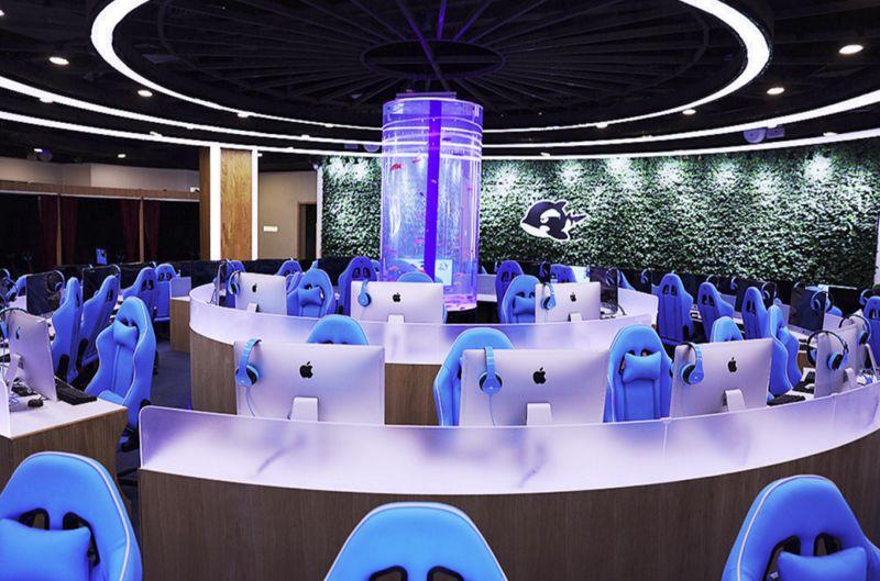 High-End Internet Cafes