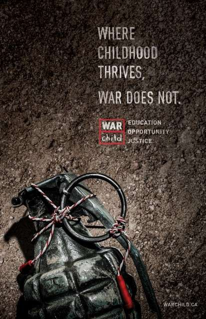 War Child campaign