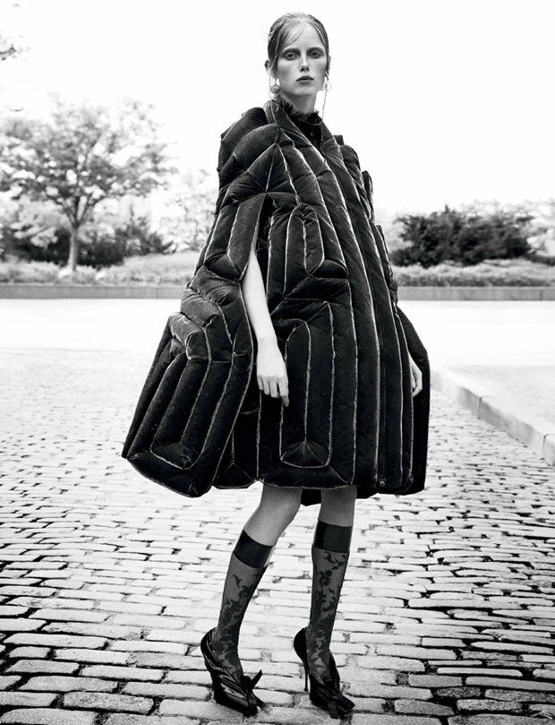 Avant-Garde Outerwear Editorials