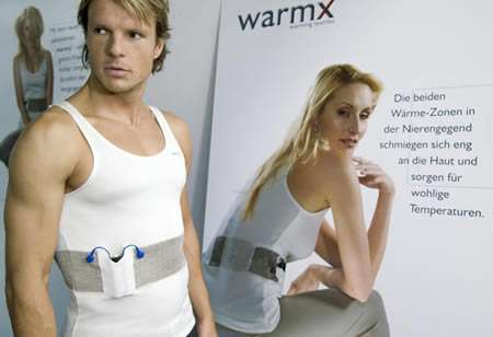 WarmX Electrically Heated Clothing