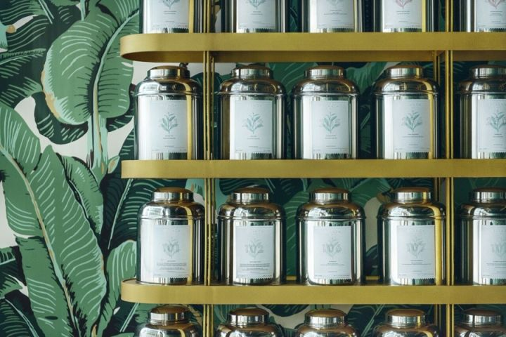 Luxe Botanical Tea Rooms