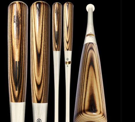 Flame-Treated Baseball Bats