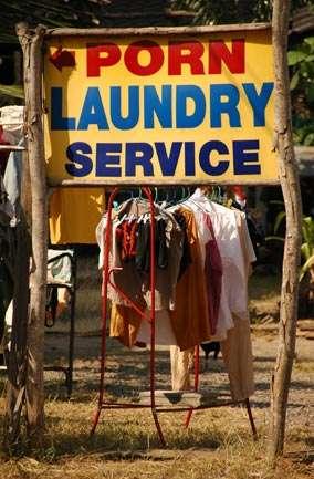 Naughty Laundry Service