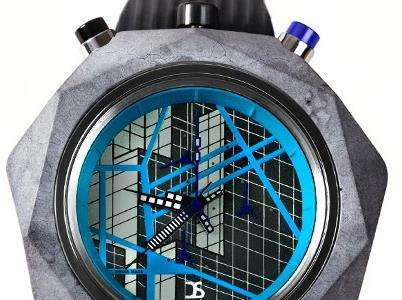 High-End Concrete Timepieces