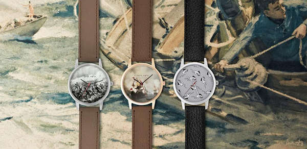 Patterned Analogue Watch Faces