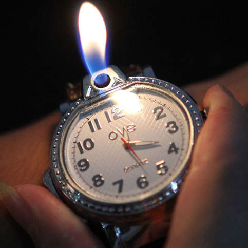 Fire Fueling Timepieces Watch Lighter