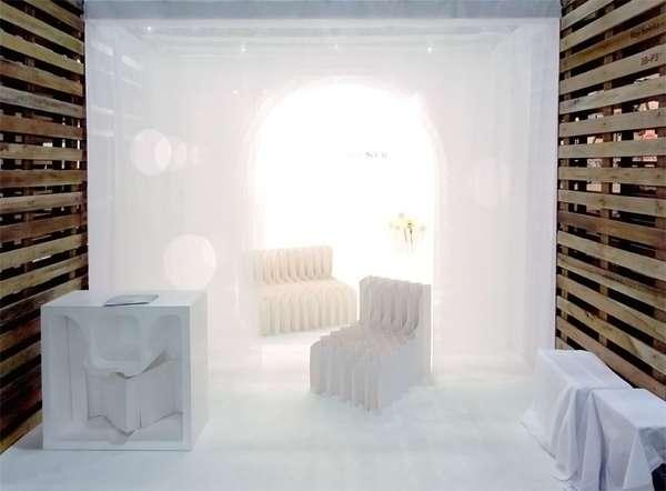Peculiar Paper Furniture