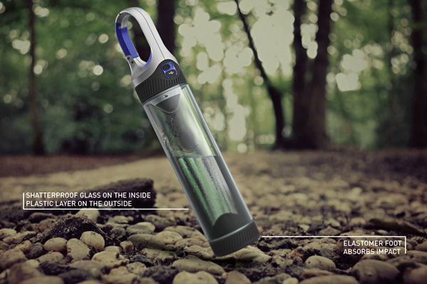 Portable Water Bottle Lamps