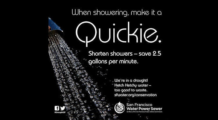 Suggestive Water-Saving Ads
