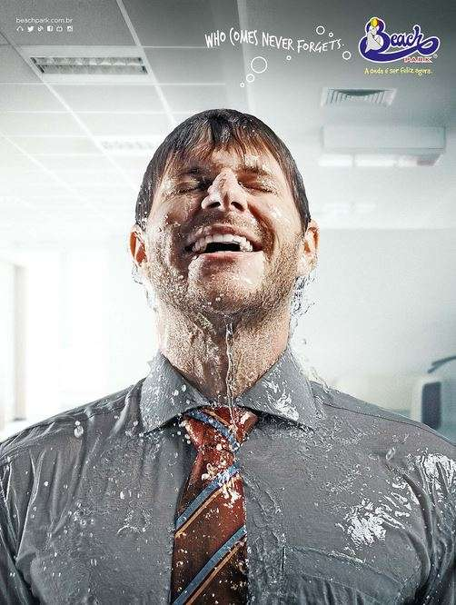 Drenched Portrait Ads