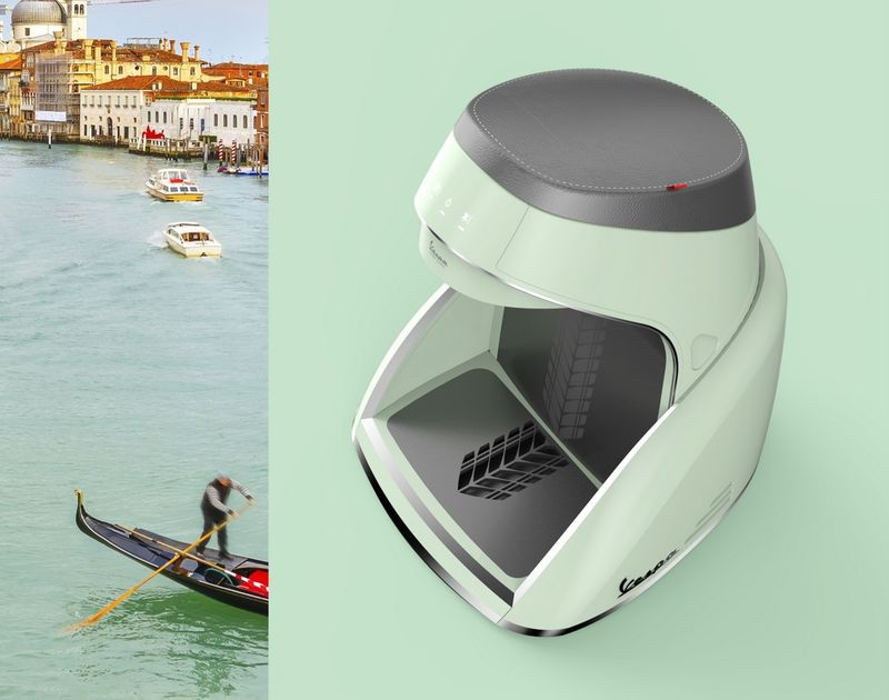 Scooter-Themed Water Purifiers
