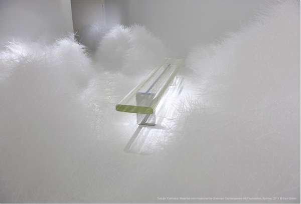 Plastic Cloud-Like Installations