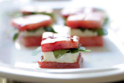 watermelon cheese bites by brit co