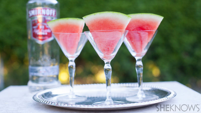 Boozy Watermelon Wedges