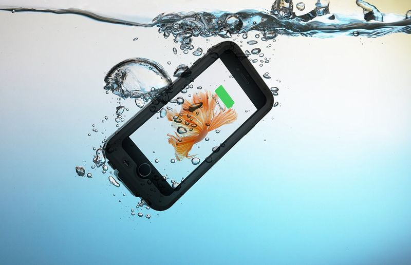 Waterproof Smartphone Charging Cases