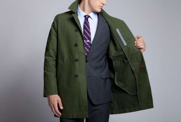 Chic Waterproof Menswear