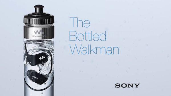 Waterproof Watter Bottle MP3s