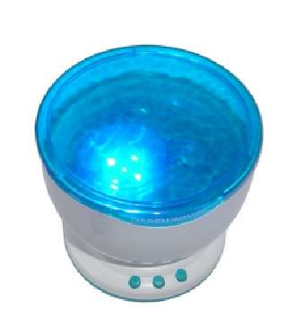 Wave LED Projector MP3 Speaker