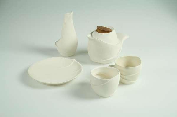 Flower Petal Teacups