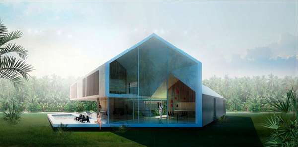 we architecture triangle house