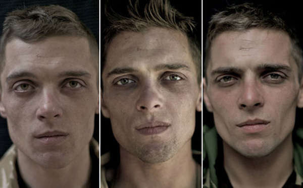 Soldier Time-Lapse Portraits